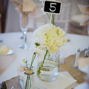 Simple Rustic Centerpieces