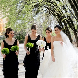Formal Black Vera Wang Bridesmaid Gowns