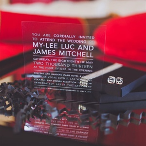 Casino Style Invitations