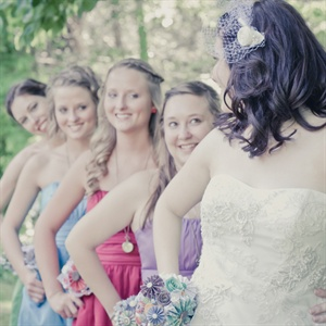 Colorful Bridesmaid Looks