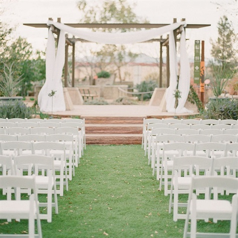 Elegant Outdoor Ceremony