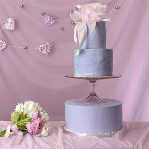 Lavender Hued Buttercream Cake