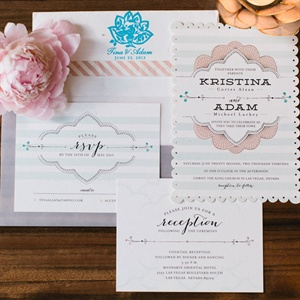 Striped Invitation Suite