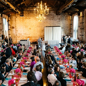 Elegant Urban Industrial Reception Venue