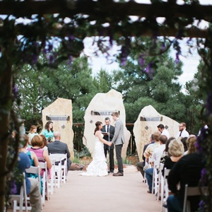 Stone Ceremony Backdrop