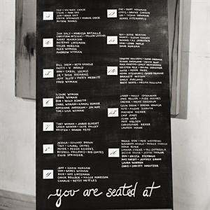 Modern Chalkboard Seating Chart