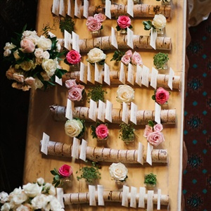 Romantic Woodland Escort Card Display
