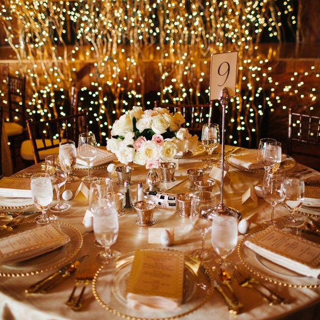 Gold Wedding Reception: 301 Moved Permanently