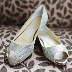 Jimmy Choo Bridal Flats