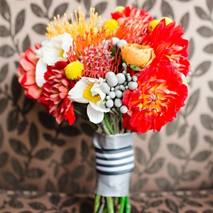 Bold Protea Bridal Bouquet