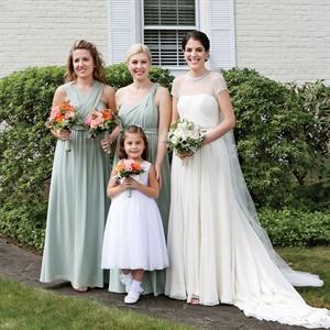 Chiffon Jenny Yoo Bridesmaids Dresses