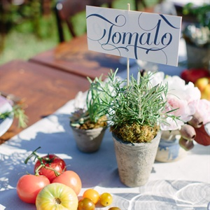 Farmers Market Tablescapes