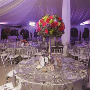 Formal Silver Tented Reception