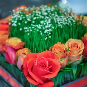 Boxed Floral Centerpieces