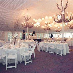 Sophisticated Tented Reception