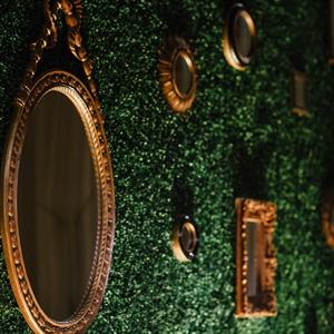 Glamorous Mirror Backdrop