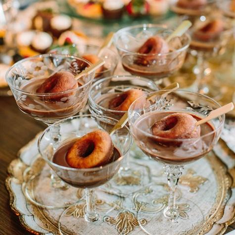 Miniature Doughnut Desserts