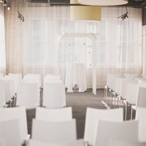 Modern White Ceremony