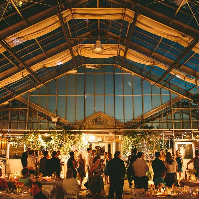 Wedding Reception Venues In Michigan: The Reception Was Held Inside The Conservatory At The MSU