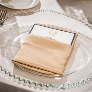 Refined Gold Place Settings
