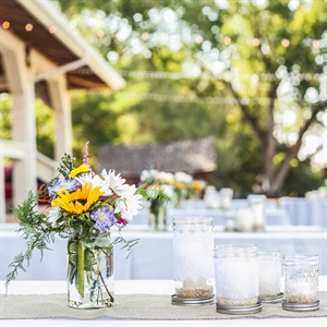 Mason Jar Table Decor