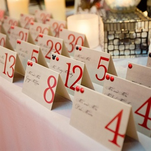 Contemporary Escort Cards