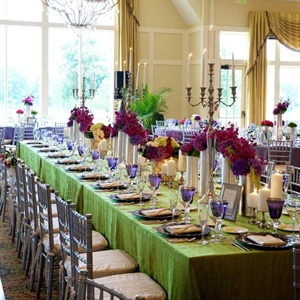 Unique Floral Tablescape
