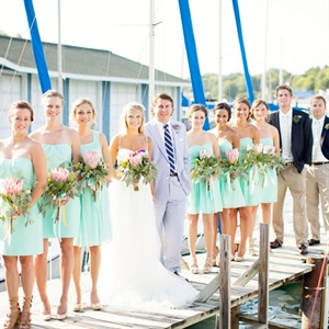 Mint J.Crew Bridesmaid Dresses