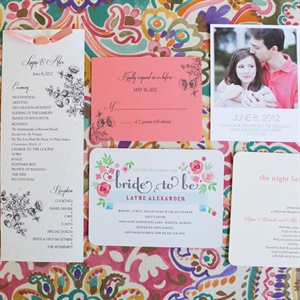 Colorful Invitation Suite