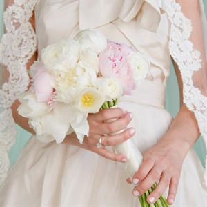 Pink and White Spring Bouquet