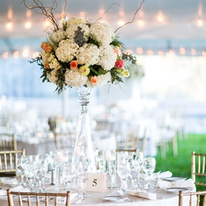 Formal Hydrangea Centerpieces