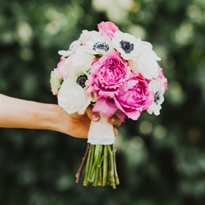 Bright Peony and Anemone Bouquet