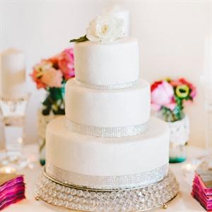 Shimmery Rhinestone Cake