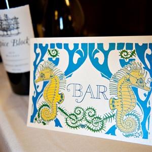Seahorse Bar Sign