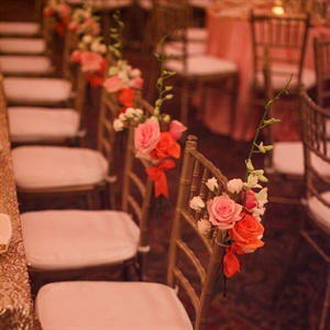 Rose Decorated Chiavari Chairs