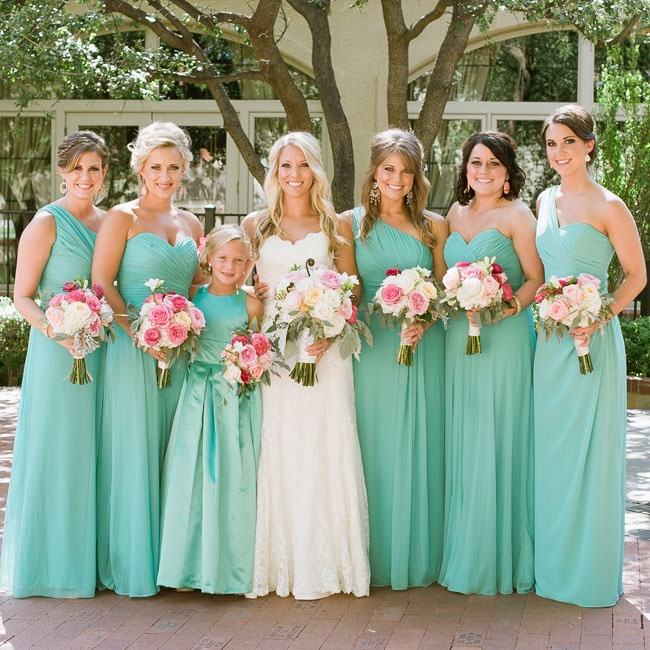 Turquoise bridesmaid dresses for Turquoise bridesmaid dresses for beach wedding