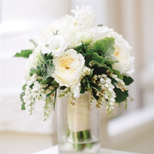 Ivory Cascading Bridal Bouquet