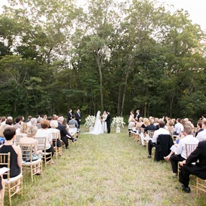 Simple Meadow Ceremony