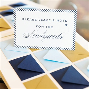 Miniature Envelope Guestbook