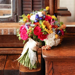 Bright Wildflower Bouquet