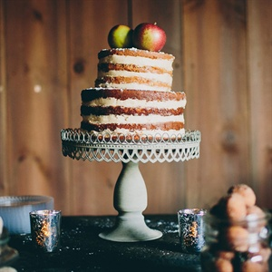 Parsnip Apple Cake with Maple Buttercream