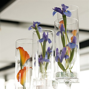 Tall Orchid Centerpieces