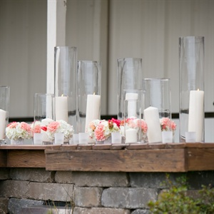 Outdoor Candle Display