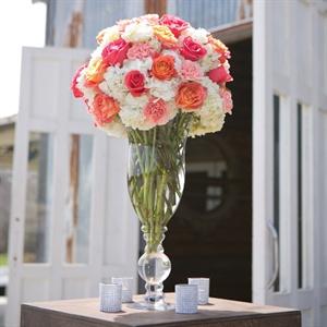 Tall Rose Floral Arrangements