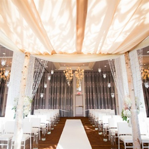 Sophisticated Indoor Ceremony Space