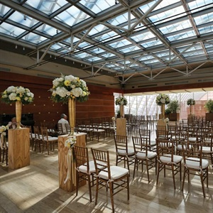 Elegant Industrial Ceremony Space