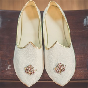 Ivory Khussa Shoes