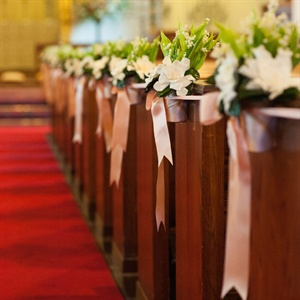 Lily of the Valley Ceremony Decor