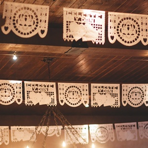 Papel Picado Reception Decor