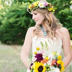 Bohemian Bridal Look